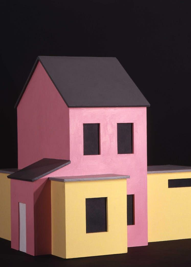 Benoit ROUSSEL A house inside a house 2000 Raymond Saublains