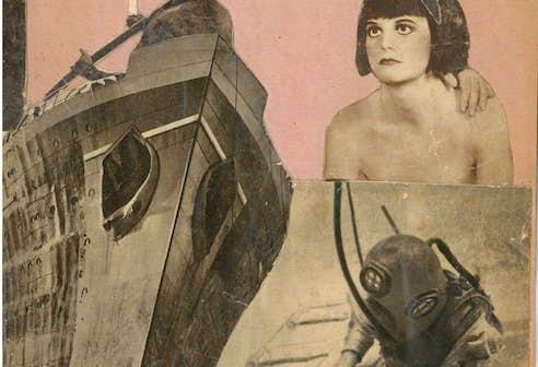 Gengenbach Ernst_Le Surrealisme. Le Cimetière marin, w.d. collage