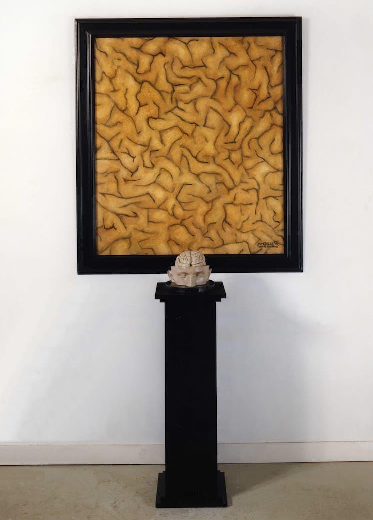 Peinture cerebrale Jacques Charlier