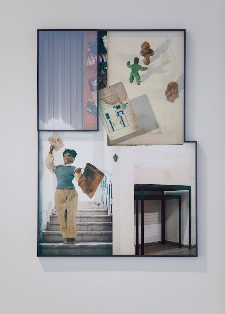 """Ilit AZOULAY, """"Neither Dream Nor Riddle"""", 2017. Exposition La Colère de Ludd BPS22 2020 Photo Leslie Artamonow"""