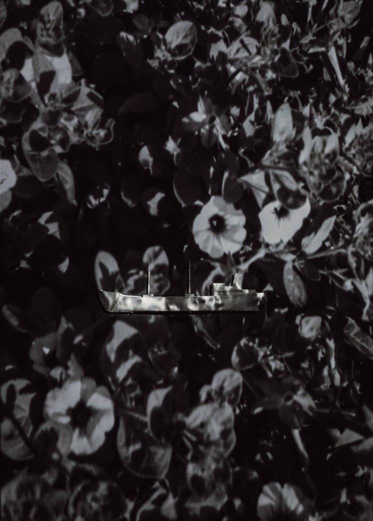 """Jacqueline MESMAEKER, """"Melville 1891"""", 2015. Exposition La Colère de Ludd, BPS22, 2020. Photo : Leslie Artamonow"""