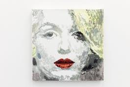 "Margaret Harrison, ""Marilyn"", 1998. Courtesy ADN Galeria, Barcelone Photo: Fred Dott"