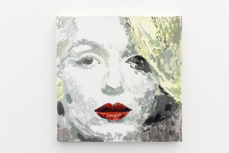 "Margaret Harrison, ""Marilyn"", 1998. Courtesy ADN Galeria, Barcelone Photo: Fred Dott"
