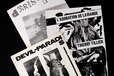 Fanzines - Archives Thierry Tillier - Collection du BPS22