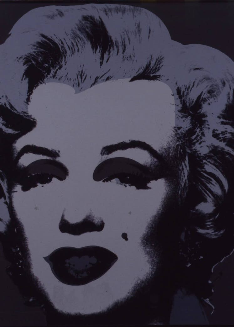 Marilyn Andy Warhol light