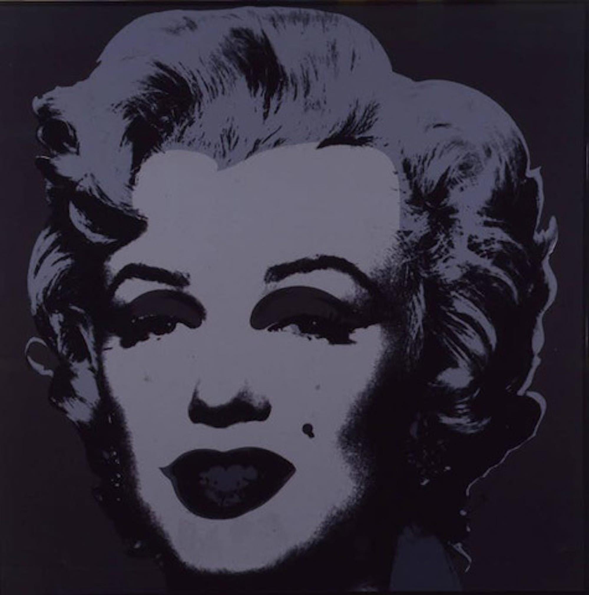 Marilyn Andy Warhol light