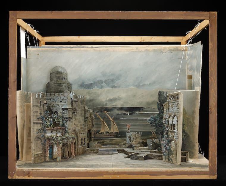 Marcel Jambon Giuseppe Verdi Otello Act Isetdesignmodel