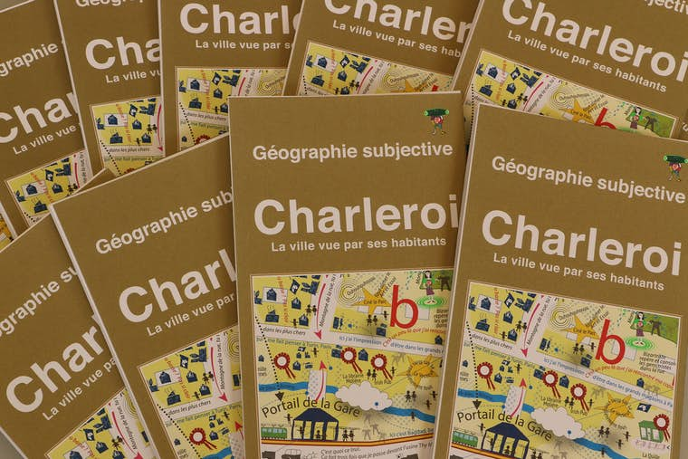 Carte Geographie subjective web
