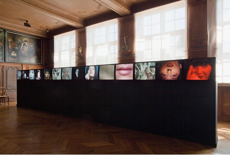 Th Abramovic Marina Video Portrait Gallery 1975 1998