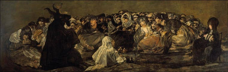 Th Francisco de Goya Le Grand Bouc 1820 1823