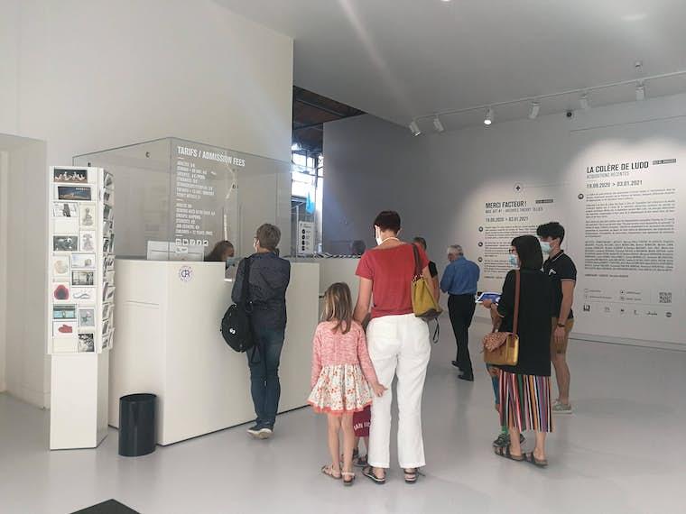 Le musée est ouvert web