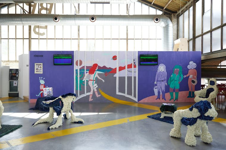 Light BPS22 Exposition ÉTÉ CARBONE La Colonie de vacances Leslie Artamonow 3