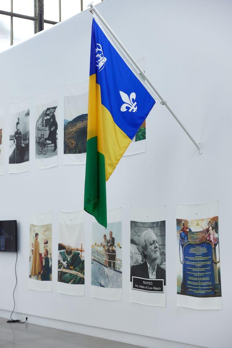 Light BPS22 Exposition LETTRES DE MISARCHIE Charleroi Chicoutimi Leslie Artamonow 6