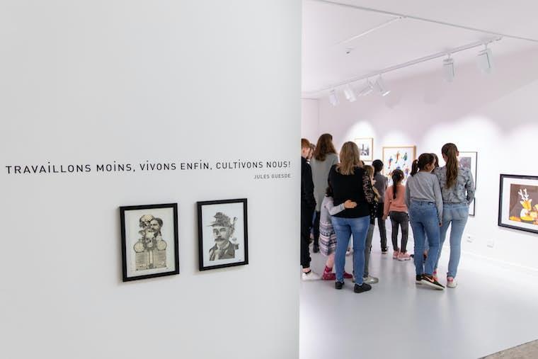 visite guidée jeunes petit musée